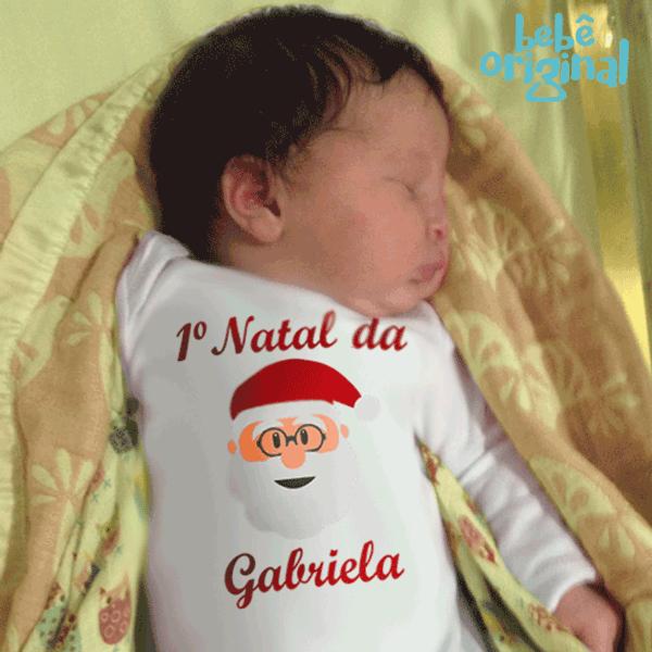 body-papai-noel-meu-primeiro-natal-com-nome