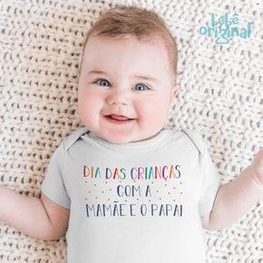 body-dia-das-criancas-colorido-com-mamae-e-papai-bebe