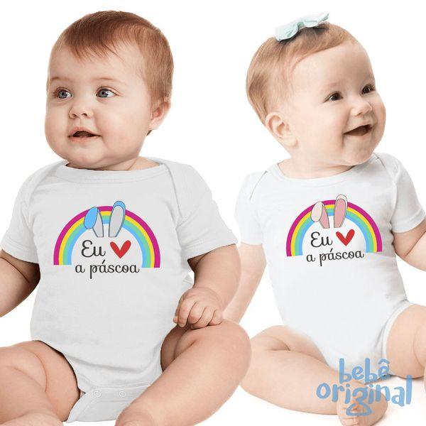 body-eu-amo-pascoa-arco-iris-bebes-H