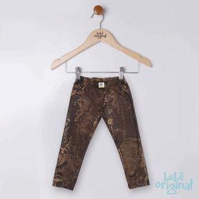 Legging-Animal-Print-Marron-Dourado-Nenem-H